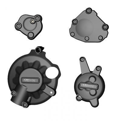 YAMAHA YZF R1 07 - 09 GBRACING SECONDARY ENGINE CASE COVER SET